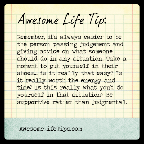 Put Yourself In Their Shoes Awesome Life Tips